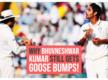 Getting Sachin Tendulkar out for a duck still gives me goose bumps: Bhuvneshwar Kumar