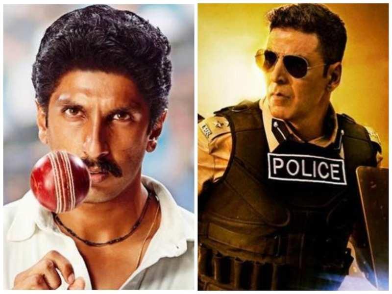 Akshay Kumar's 'Sooryavanshi' and Ranveer Singh's '83' confirm theatrical release dates