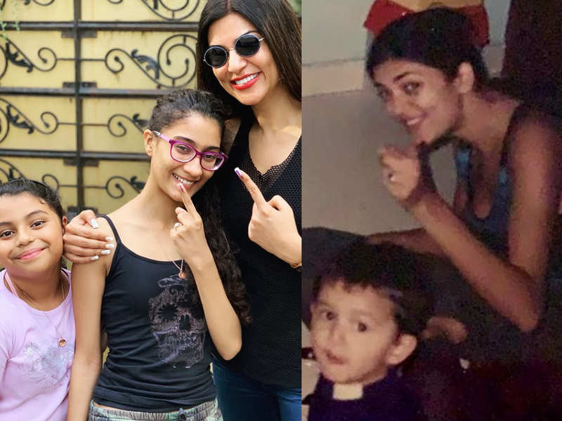 """Sushmita Sen talks about bringing up daughters: """"Magical to realise I was being mothered"""""""