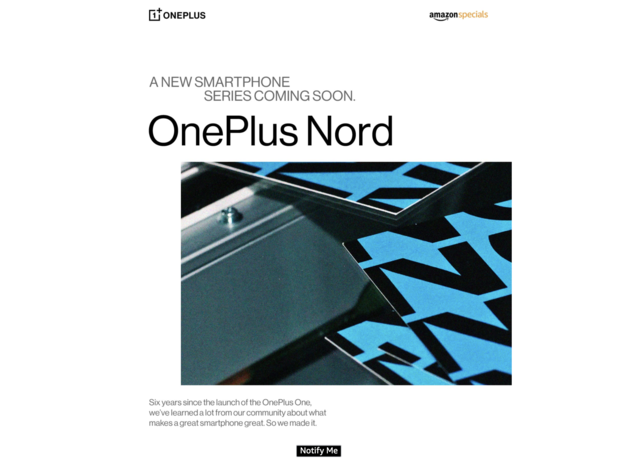 OnePlus Nord gets listed on Amazon India website, may go on pre-orders starting July 1