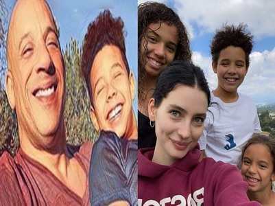 Vin & Paul's kids unite for Family Forever pic