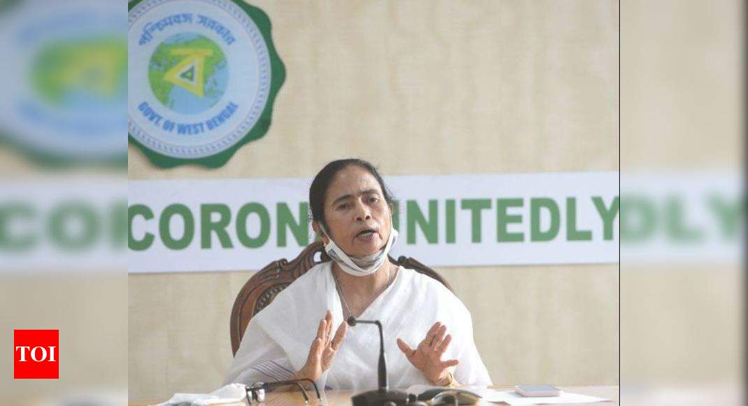 Mamata Banerjee extends free ration scheme of state govt till June 2021 - Times of India