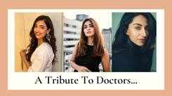 Beauty Queens Pay Tribute To Doctors