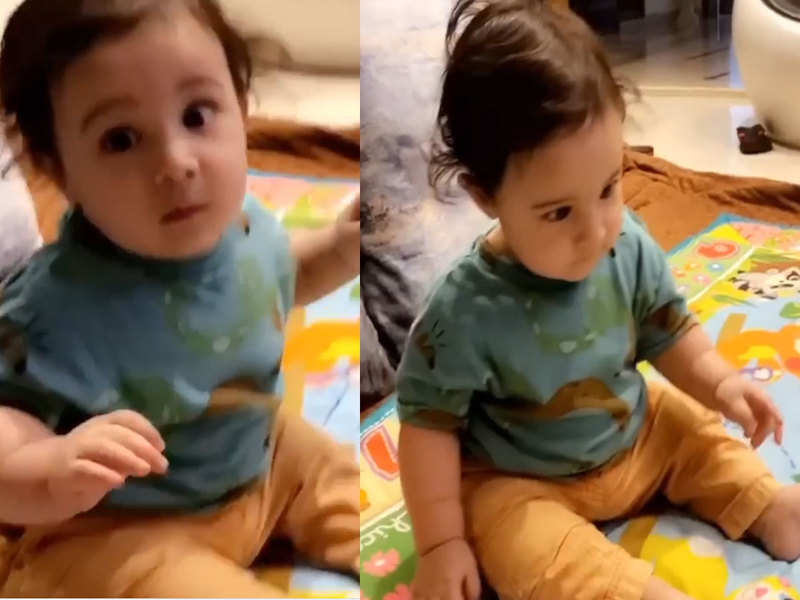 Gippy Grewal's latest song 'Vair' has got his youngest son Gurbaaz grooving, and the video is too cute to miss