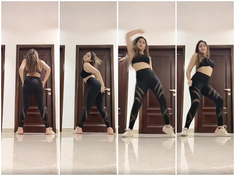 Sayyeshaa's hot new dance moves goes viral!