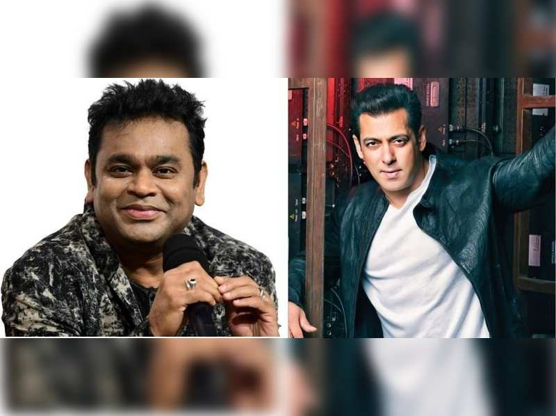 This old video of AR Rahman and Salman Khan has been going viral