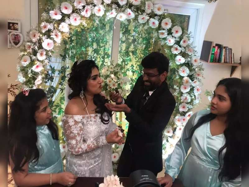 Vanitha Vijayakumar: Peter Paul's son refutes Vanitha's statements ...
