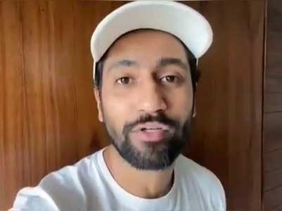 Vicky Kaushal shares a video on Doctor's Day