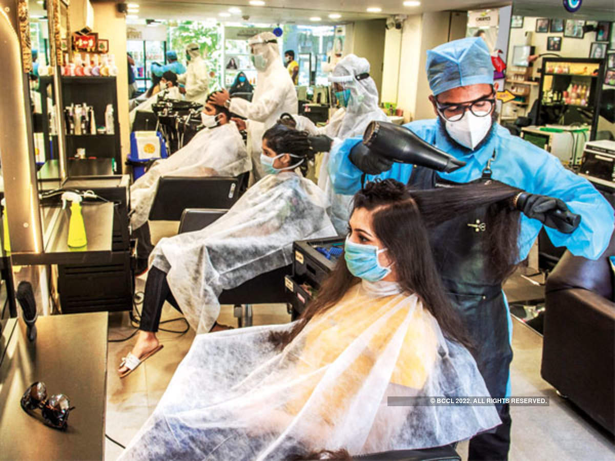 Sanitisation Masks And Minimal Contact Mumbai S Beauty Parlours Salons Get A Makeover Mumbai News Times Of India You can check them out at a fraction of the original price and see for yourself if you like them. beauty parlours salons get a makeover