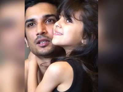 Sushant Singh Rajput's picture with his niece
