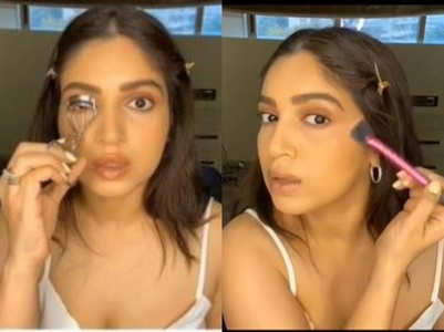 Bhumi Pednekar debuts as a makeup artist