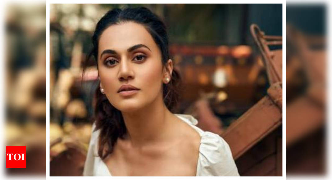 Taapsee Pannu Reveals She Lost Some Of Her Movies Due To Nepotism In Bollywood Hindi Movie News Times Of India