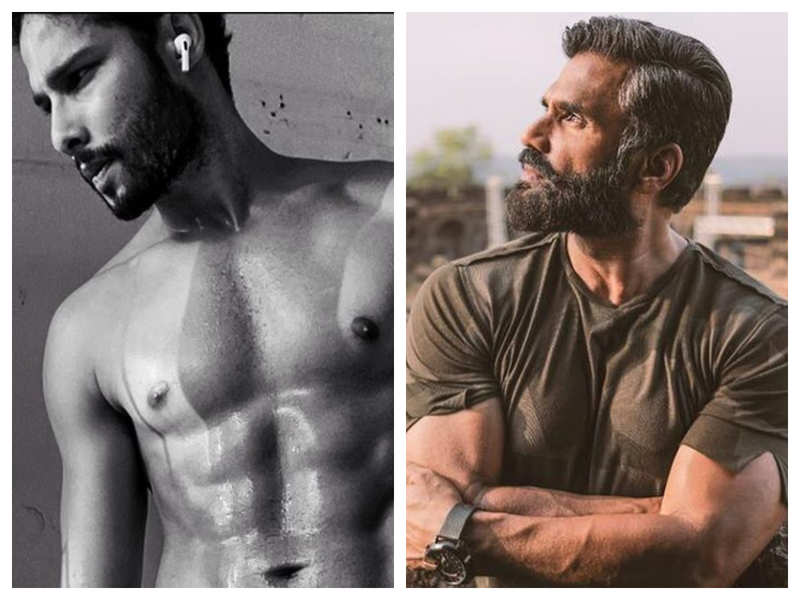 Suniel Shetty is all praise for Siddhant Chaturvedi's jaw-dropping physical transformation