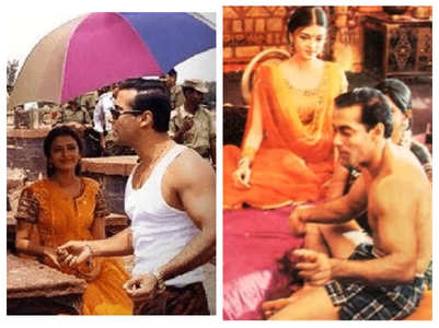 BTS pics of Salman and Aishwarya