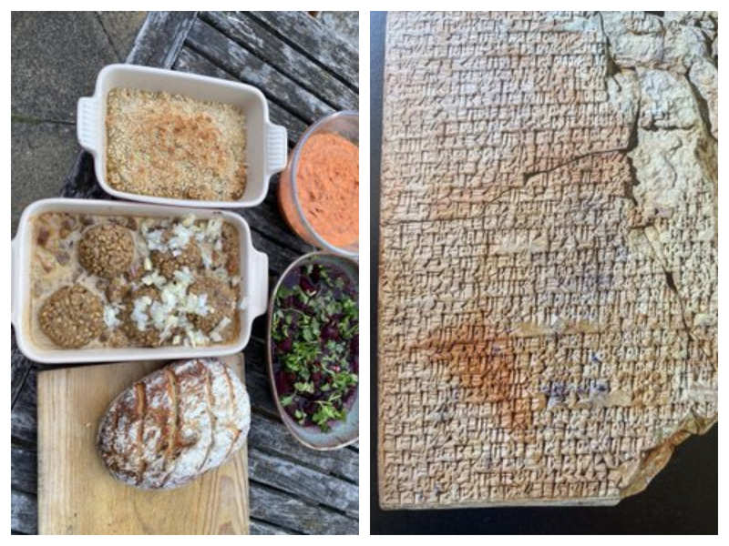 Man cooks 'World's Oldest Mesopotamian Recipe' using 1750 BCE tablet
