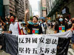 40 pictures from Hong Kong protests over China security law