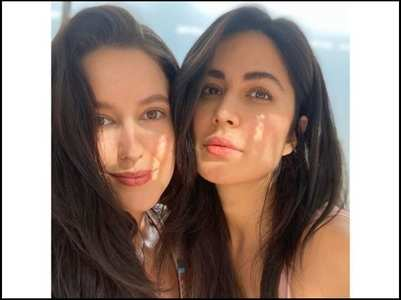 Katrina's adorable pics with sis Isabelle