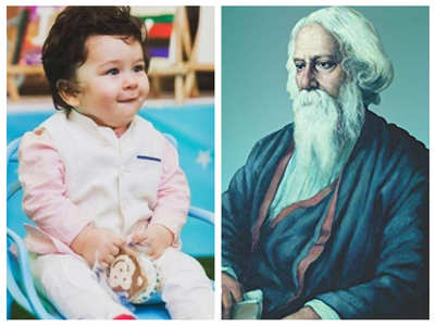 Is Taimur related to Rabindranath Tagore?