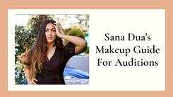 Easy Makeup Tutorial For Auditions ft. Sana Dua