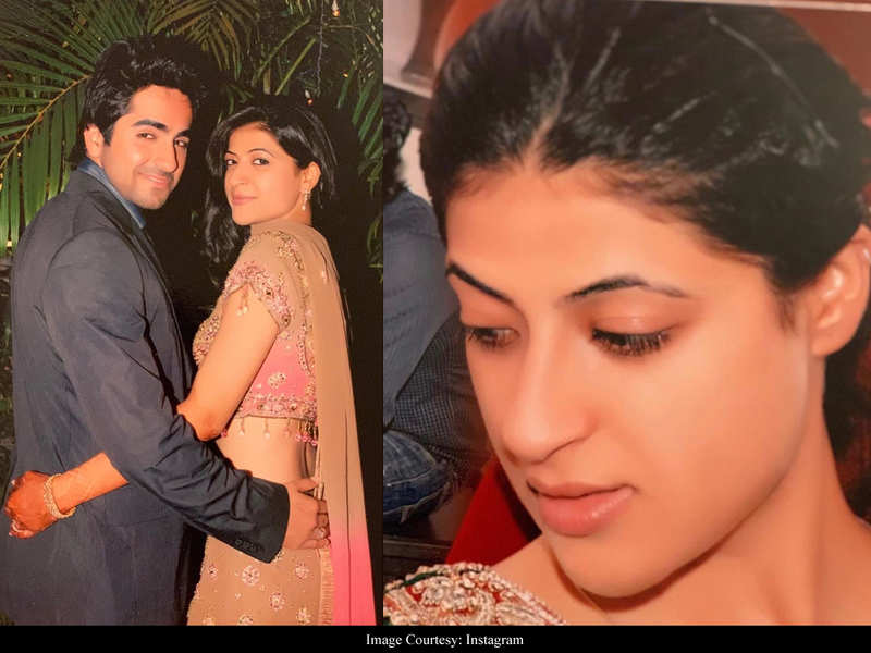 Ayushmann Khurrana is in awe of wife Tahira's throwback photos from their mehendi ceremony in 2008