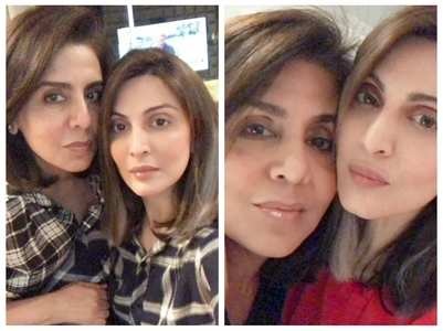 Adorable selfies of Neetu Kapoor & Riddhima