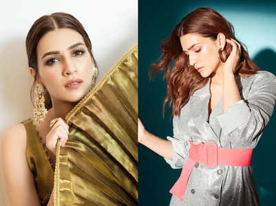 6 times Kriti Sanon made a case for blingy outfits