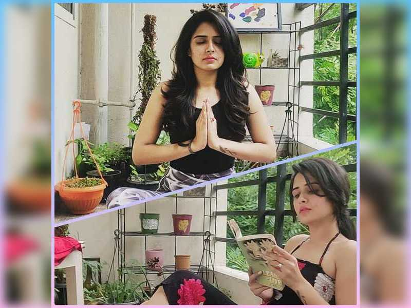 Supritha Sathyanarayan indulges in some mindful 'me-time'