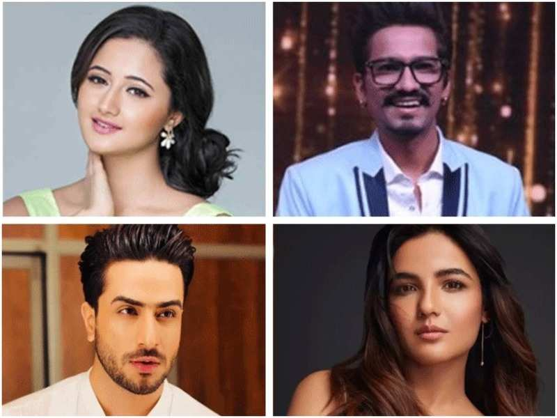 Rashami Desai, Haarsh Limbhachiyaa, Aly Goni and Jasmin Bhasin