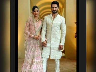 Shahid's wife is excited for their anniversary