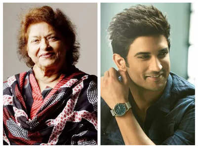 Saroj Khan's last Insta post was for SSR