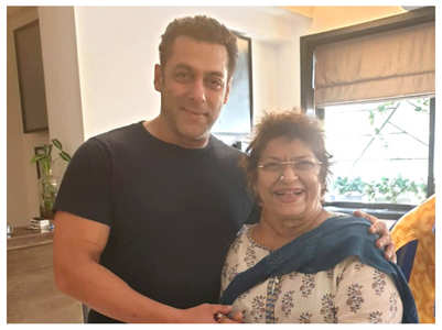 When Salman came to Saroj Khan's rescue