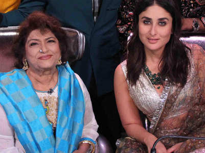 When Bebo credited Saroj Khan for her success