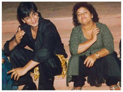 When Saroj Khan slapped SRK