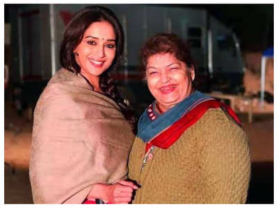 "Madhuri ""devastated"" by loss of Saroj Khan"