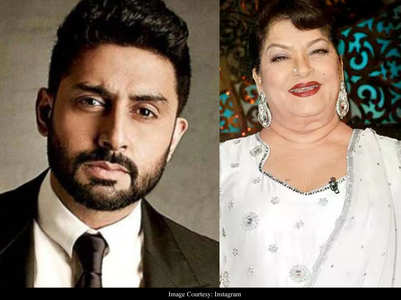 Abhishek on memories with Saroj Khan