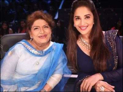 Saroj Khan credited Madhuri for her success