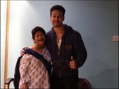 Tiger Shroff remembers Saroj Khan