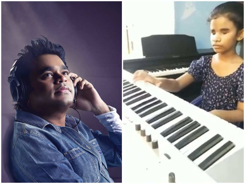 AR Rahman impressed with visually-impaired girl playing keyboard
