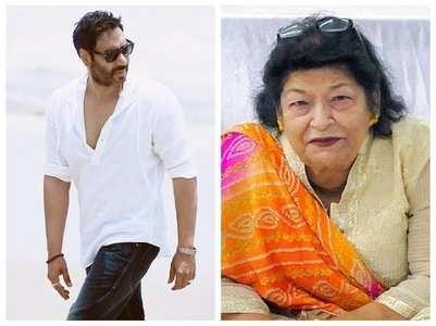 Ajay Devgn remembers Saroj Khan in his post