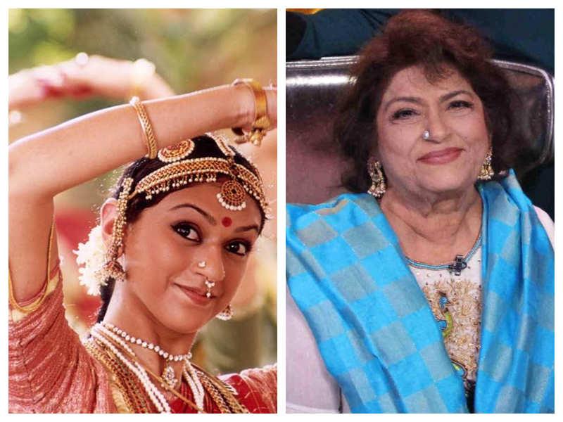 Aditi Rao Hydari reminisces about working with Saroj Khan in Sringaram