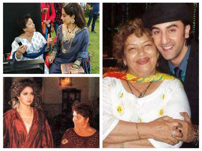 Saroj Khan's pics with Btown actors