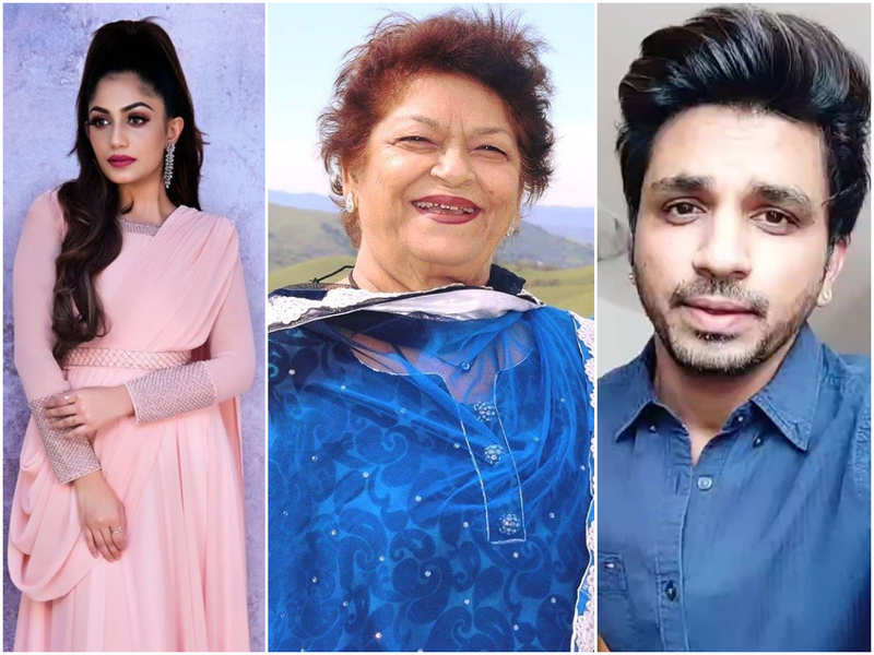 Malayalam TV celebs pay homage to ace choreographer Saroj Khan