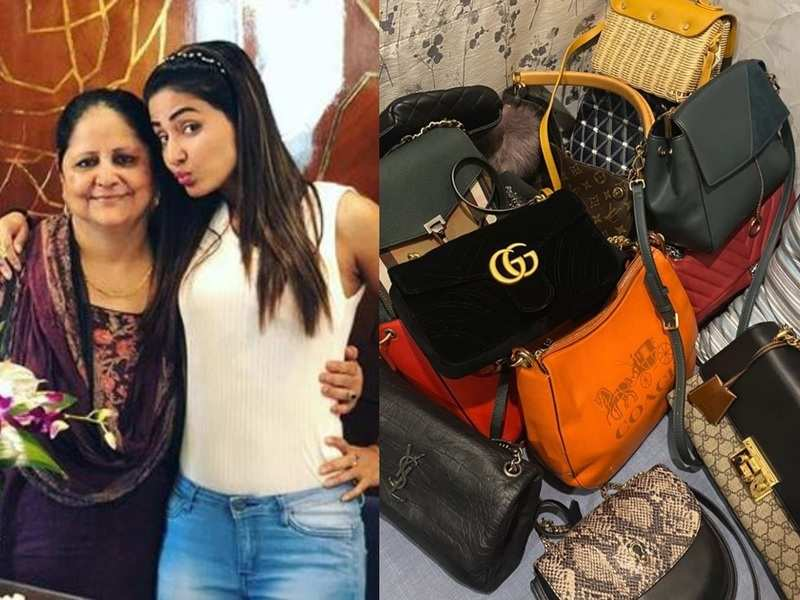 Hina Khan's mom scolds her for not taking care of her expensive bags; the actress gives a peek into her collection