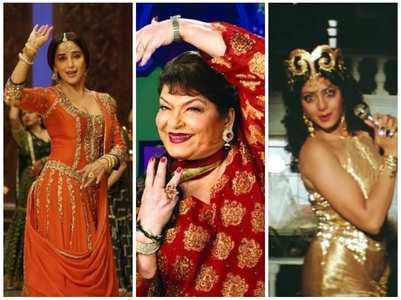 Top songs choreographed by Saroj Khan