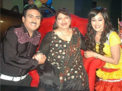 Saroj Khan choreographed Dilip-Disha in TMKOC?