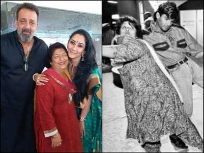 Sanju, Suniel share rare pics with Saroj ji