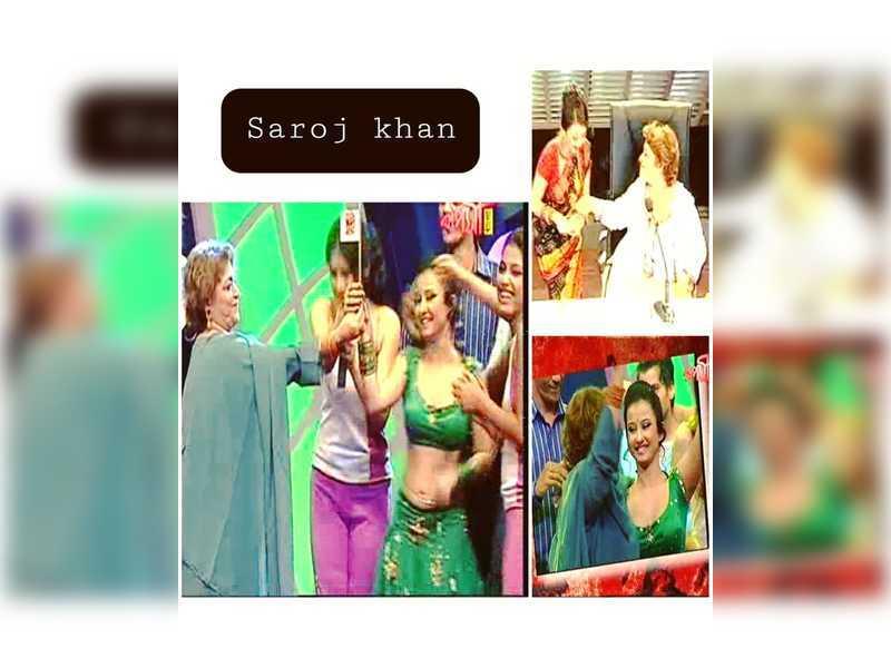 Saroj Khan used to call me Chhoti Mirch on the sets of a dance reality show: Monami Ghosh