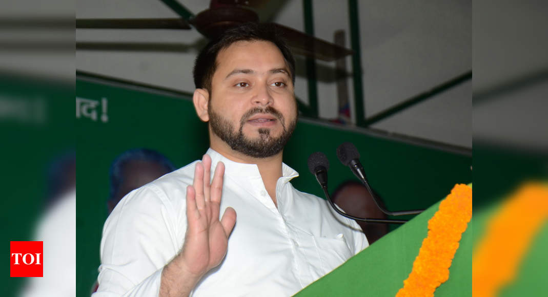 Tejashwi Yadav seeks to wash away RJD's sins with an apology; NDA smirks | India News – Times of India