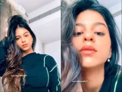 Watch: Suhana's natural glow is unmissable