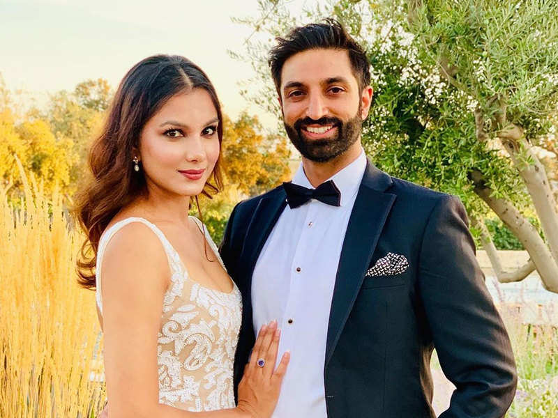 Monica Gill on her anniversary with fiance Gurshawn Sahota: You are a wonderful human and an insanely good looking man
